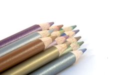 Pencil Crayons Stock Photography