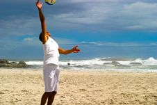 Free Beach Volley Ball 3 Stock Photo - 2218910