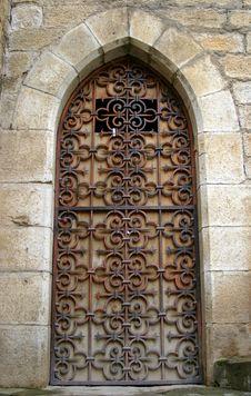 Free Gothic Medieval Door Stock Image - 2219031