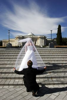 Free Bride And Groom Stock Images - 2219644