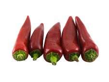 Free Chili Peppers Royalty Free Stock Image - 2219756