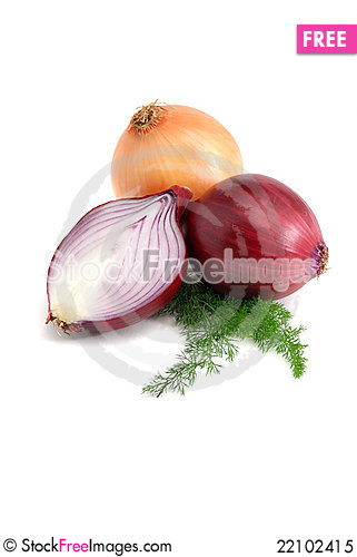 Free Onions Royalty Free Stock Photo - 22102415