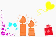 Free Birthday Royalty Free Stock Image - 22101006