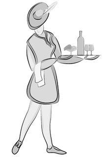 Free Waiter Royalty Free Stock Image - 22101866