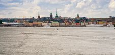Free Panorama Of Stockholm City In Autumn Day Stock Photos - 22102213