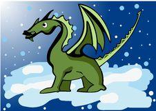 Free Green Dragon Stock Photography - 22103002