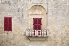 Free Balconies And Windows In Malta Stock Image - 22105491