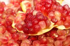 Free Pomegranate Seeds Royalty Free Stock Photo - 22108855