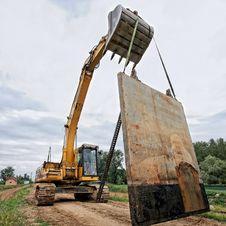 Free Excavator Stock Photo - 22110830