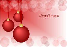 Free Christmas Balls Stock Photography - 22111872