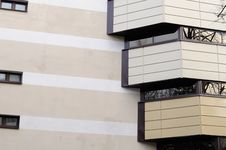 Facade Of Modern Building Royalty Free Stock Photography