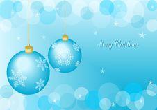 Free Christmas Balls Royalty Free Stock Photos - 22114458