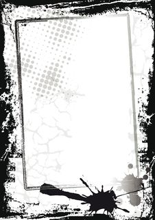 Free Grunge Frame Stock Photography - 22114532