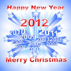 Free New Year 2012 Background Stock Photos - 22116303