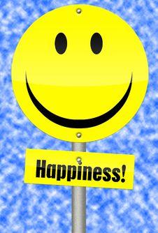 Happy Sign Stock Photos
