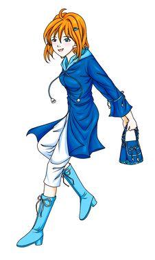 Free Fashion Blue Coat Stock Photography - 22119412