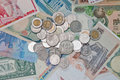 Free Currencies Around The World. Royalty Free Stock Image - 22127056