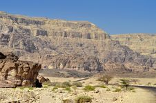 Free Geological Formations In Timna Park, Israel Royalty Free Stock Images - 22120039