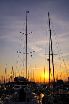 Free Sunset_marina Stock Images - 22121674