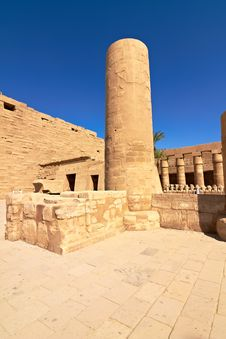 Free Interior Of Karnak Temple Stock Photos - 22121693