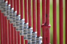 Free Red Bars Royalty Free Stock Photography - 22124577