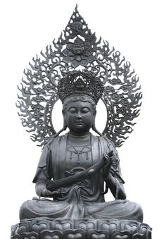 Free Metal Buddha Statue In Chinese Temple Royalty Free Stock Photo - 22124695