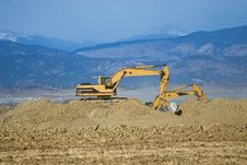 Free Construction Excavator Stock Images - 22124944