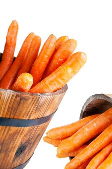 Free Washed Carrots Stock Image - 22125371