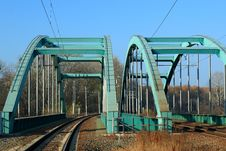 Free Railway Bridge Royalty Free Stock Photography - 22127757