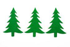 Free Three Fir Trees Royalty Free Stock Photos - 22127828