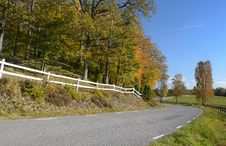 Free Autumn S Traveling Across Sweden Royalty Free Stock Images - 22129339