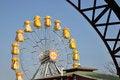 Free Big Yellow Wheel Stock Photos - 22136163