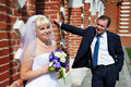 Free Happy Bride And Groom Royalty Free Stock Image - 22139586