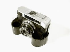 Free Old Camera Royalty Free Stock Images - 22130169