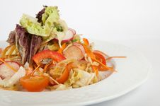 Free Green Salad Royalty Free Stock Image - 22130366