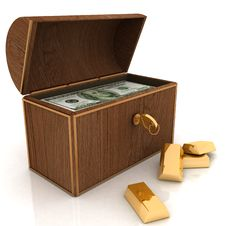Free Treasure Chest Stock Photo - 22132730