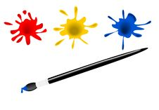 Free Paint Brush Stock Photo - 22133090