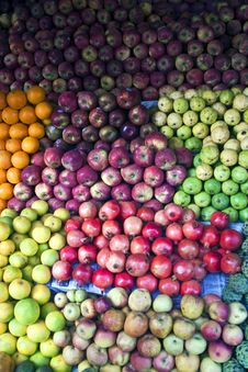 Fruits For Sale Stock Photography