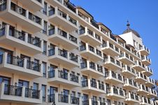 Free Windows, Tower And Balconies Royalty Free Stock Images - 22136299