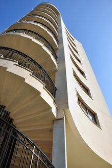 Free Helical Stairs And Hotel Stock Photography - 22137402