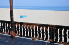 Free Beach Terrace Bar Royalty Free Stock Images - 22137819