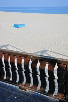 Free Beach Wooden Terrace Bar Stock Photos - 22137823