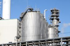 Free Refinery Plant Stock Image - 22138971
