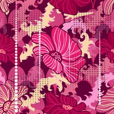 Free Abstract Floral Pattern Stock Photo - 22143660