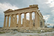 Free Acropolis Temple In Athens Stock Photos - 22144033