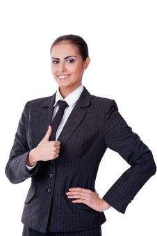 Free Sucsessful Businesswoman Stock Photo - 22144040