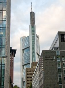 Free Skyscrapers In Frankfurt Am Main Royalty Free Stock Photo - 22144705