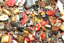 Free Background Of Wedding Locks Royalty Free Stock Photo - 22146565