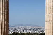 Free A View Of Athens Stock Photography - 22149462