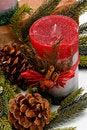 Free Christmas Candle Stock Photos - 22151103
